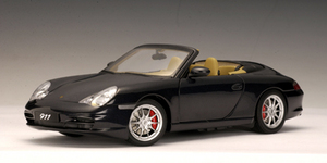 SALE Porsche 911 (996)  Carrera Cabriolet Gray 1/18 Scale by AUTOart SALE