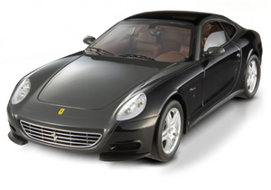 Hot Wheels SUPER ELITE Edition Ferrari 612 Scaglietti SESSANTA 60th  Black 1/18 Scale