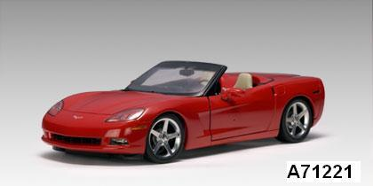 SALE Chevrolet Corvette Convertible Red C6 1/18 scale by AUTOart SALE
