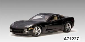 Chevrolet Corvette Coupe Black C6 1/18 scale by AUTOart