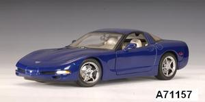 Chevrolet Corvette Coupe C5 Blue LeMans Commerative Edition 1/18 scale by AUTOart
