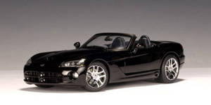 SALE Dodge Viper SRT 10 Roadster Black 1/18th Scale by AUTOart