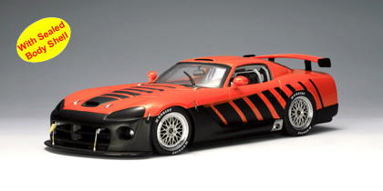 DODGE VIPER COMPETITION COUPEGO MAN GO(ORANGE) 1/18th scale by AUTOart