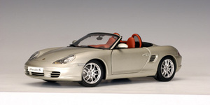 Porsche Boxster S 986 Cabriolet Facelift Silver 1:18 Scale by AUTOart