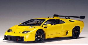 Lamborghini Diablo GTR Yellow 1/18th Scale by AUTOart