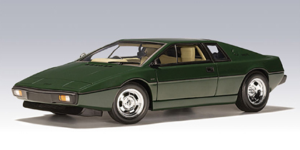 Lotus Esprit 1979 Green 1/18th Scale by AUTOart