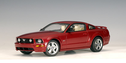 Ford Mustang GT Coupe 2005 Redfire 1/18 Scale by AUTOart