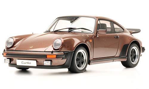 Porsche 911 Carrera Turbo 3.0 Copper Brown 1/18 Scale by AUTOart