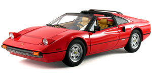 Ferrari 308 GTS Red Stars Collection 1/18 Scale by Hot Wheels ELITE Edition