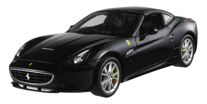 Ferrari Califronia Black  Special Ferrari In Music Edition George Michael 1/18th Scale by HOT WHEELS ELITE