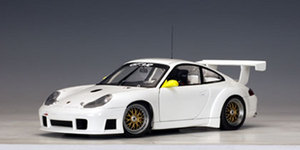 Porsche 911 (996) Carrera GT3 RS Racecar Plain Version 1/18 Scale by AUTOart