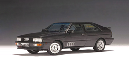 SALE AUDI Coupe Quattro (1988) LWB Black 1:18th Scale by AUTOart SALE