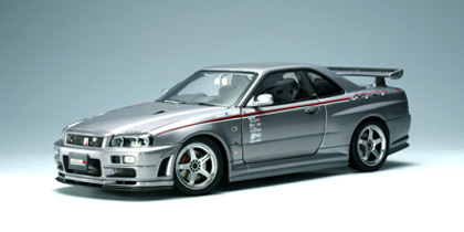 SALE NISSAN SKYLINE GT-R (R34) NISMO S-TUNE VERSION (SPARKLING SILVER)  by AUTOart SALE