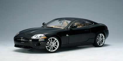 SALE Jaguar XK Coupe (2006) Black 1/18th Scale by AUTOart SALE