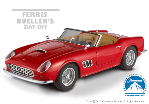Ferrari 250 California Red Stars Edition /18th Scale  Hot Wheels Elite Edition