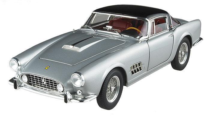 Ferrari 410 Superamerica Silver 1/18 Scale by Hot Wheels ELITE Edition RARE FIND
