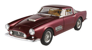 Ferrari 410 Superamerica Burghandy 1/18 Scale by Hot Wheels ELITE Edition RARE FIND