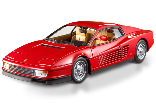 Ferrari Testarossa Red (1984) Hot Wheels ELITE 1/18 Scale