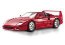 Ferrari F40 Red 1/18 Scale by Hot Wheels ELITE Edition