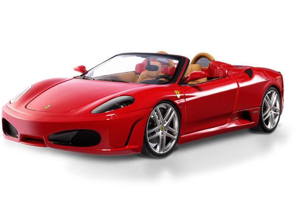 Ferrari F430 Spider Red 1/18th Scale by HOT WHEELS ELITE
