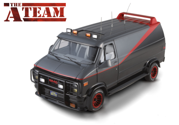 A Team Van by Hot Wheels ELITE Cult Classics LIMITED EDITION
