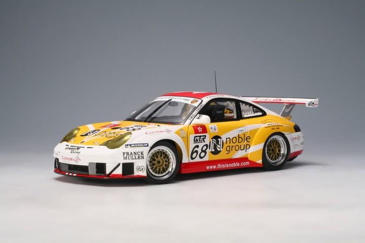 SALE Porsche 911 GT3 RSR Carrera Cup #68 FIA GT ZHU HAI Racecar by AUTOart 1 of 2000 SALE