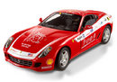 Ferrari 599 GTB Red Pan Am 1/18 Scale by Hot Wheels ELITE Edition