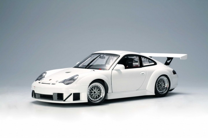 SALE Porsche 911 GT3 RSR Carrera Cup AUTOart Plain Body Street Version White SALE