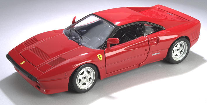 Ferrari 288 GTO Red 1/18 Scale by Hot Wheels Original Release Edition