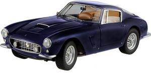 Ferrari 250 GT Passo Corto SWB Dark Blue 1:18 Scale by Hot Wheels Elite