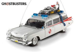 Ghostbusters ECTO-1 1:18 Scale by Hot Wheels Elite Edition Cult Classics Series