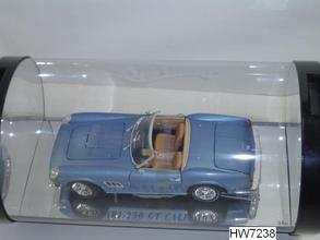 Ferrari 250 California 1/18 Scale by Hot Wheels SHOWCASE Edition