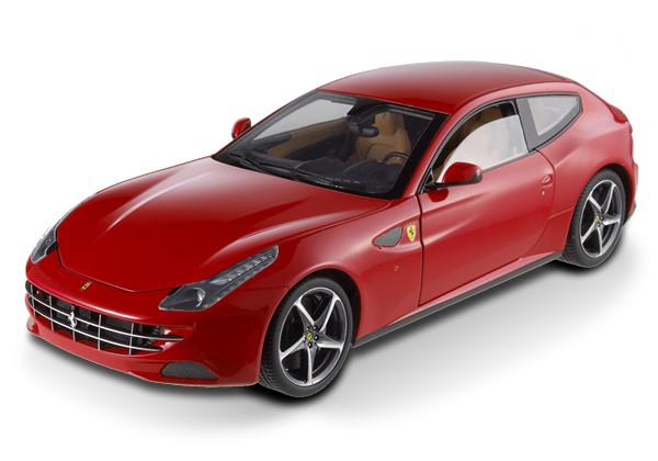 Ferrari FF Red 1/18 Scale by Hot Wheels ELITE Edition