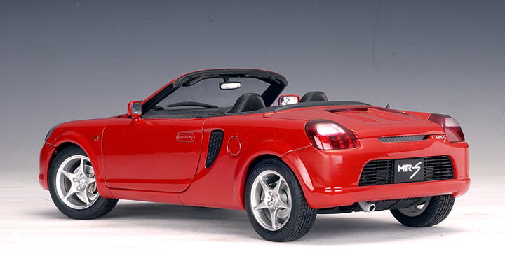 SALE Toyota MR2 Spyder Red 1:18 Scale by AUTOart