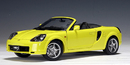SALE Toyota MR2 Spyder Yellow 1:18 Scale by AUTOart