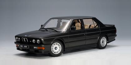 BMW M535i 1985 Diamond Black Metallic 1:18 by AUTOart VERY RARE