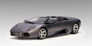 Lamborghini Murcielago Roadster Barchetta Dark Gray Metallic 1:18 by AUTOart