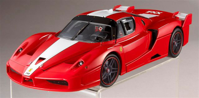 Ferrari FXX Red 1/18 Scale by Hot Wheels ELITE Edition