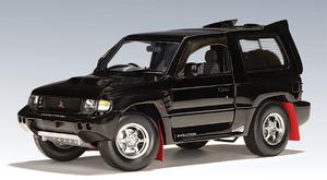 SALE Mitsubishi Pajero EVO SWB Black by AUTOart 1:18 Scale SALE