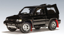 SALE Mitsubishi Pajero EVO SWB Black by AUTOart 1:18 Scale SALE
