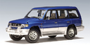 SALE Mitsubishi Pajero LWB Blue Metalic by AUTOart 1:18 Scale SALE