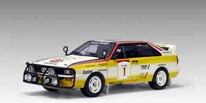 Audi Quattro LWB A2 Rallye 84 H.Mikkola #1-Yellow 1:18 SCALE AUTOart