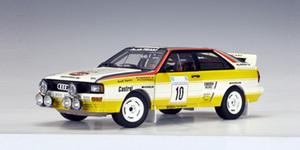 Audi Quattro LWB A2 Rally 84 S.Blomqvist #10-Yellow 1:18 SCALE AUTOart