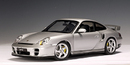 Porsche 996 Carrera  Turbo GT2 Silver by AUTOart 1:18