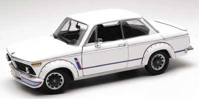 BMW 2002 TURBO WHITE 1/18 Scale by ANSON #30393 NEW IN BOX MINT CONDITION