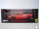 Ferrari FXX Evoluzione Red 1/18 Scale by Hot Wheels ELITE Edition