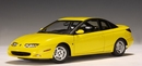 SATURN 3 DOOR COUPE SC1 YELLOW BY AUTOart 1/18 scale NEW IN BOX
