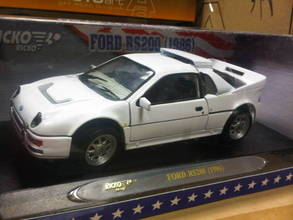FORD RS200 White Street Car by Ricko