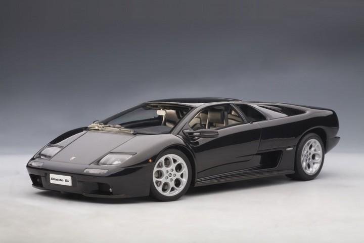 Lamborghini Diablo 6.0 Black 1/18th Scale AUTOart