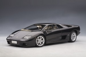 Lamborghini Diablo 6.0 Black 1/18th Scale AUTOart